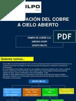 Explotacion Del Cobre a Cielo Abierto Chapi Unsa
