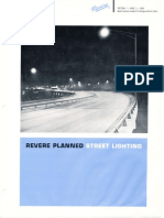 Revere Planned Street Lighting Catalog 1963