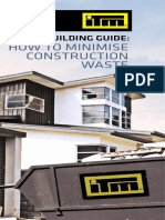 ITM Building Guide-How to Minimise Waste Sept 2014