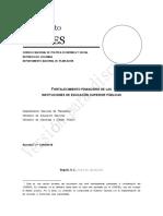 2018-03-23 Documento CONPES Financiamiento IES_VDiscusión