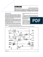 Application Note Power Supply and Power Management SG3525 AN250