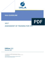1017 Ed.1.1 Assessment of Training for VTS Dec2005 1