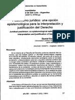 Positivismo Juridico Una Opcion Epistemologica...