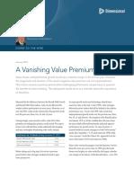 A Vanishing Value Premium US Weston Wellington January 2016 DFA