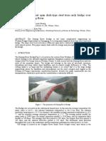 19-Design of 400m net span deck-type steel truss arch bridge over  Chongqing Daning River.pdf