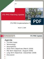 ITS PMO Planning