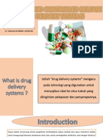 Sustained and Controlled Release Drug Delivery Systems Ppt
