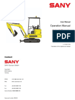 SY16 Operation Manual