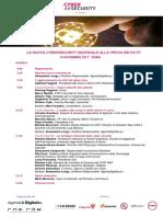 20171114 Agenda Evento Cybersecurity