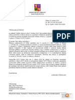 Dopis Pro Poslankyni Cernochovou k Interpelaci - Strelnice
