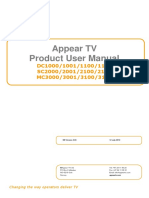 AppearTV User Manual 3.04