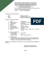 Format Surat Keterangan Pindah 2016