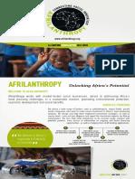Afrilanthropy 1st Edition Newsletter ENG