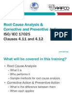 Quality Management System Root Cause Analysis Corrective and Preventive Actions 2017