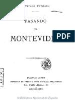 Pasando Por Montevideo