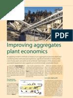 Improving Aggregates Plant Economics