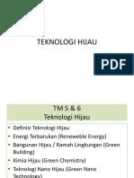 Tm 6 Teknologi Hijau