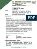 Informe Payano Defensa Civil