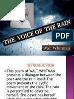 Voice of the Rain