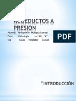 Acueductos A Presion
