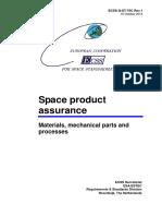 ECSS-Q-ST-70C-Rev.1 - Materials, Mechanical Parts and Processes (15 October 2014)