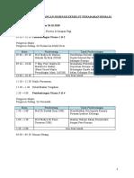 Jadual Persidangan Seminar Kemelut Peradaban Remaja