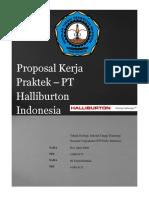 Proposal Kp Pt.halliburton