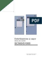 1225 - Autoclave SEDILE 250 Litros - Manual de Usuario