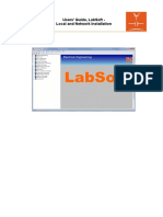 Installation Instructions Labsoft