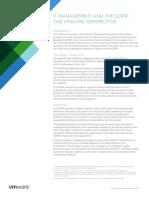 Brochure - VMWare - IT Management the GDPR