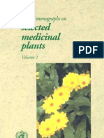 Who Monographs on Selected Herbs Vol_2