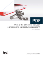 Difference Between Process and Procedures Approach FINAL June2015