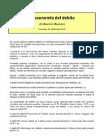 Mazziero - Tassonomia Del Debito
