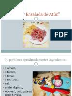 Super Ensalada de Atún.