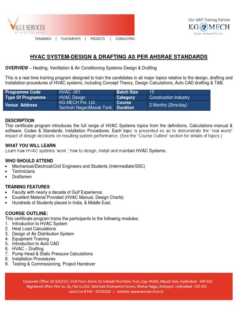 Autocad HVAC   Technical Drawing   Hvac