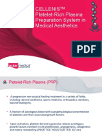 Cellenis PRP Aesthetics PDF.1. Nov 2015 Opt