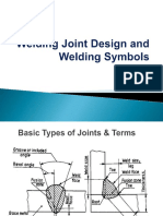 Weld Joint Design and Weld Symbol