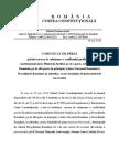 CCR - Conflict Juridic de Natura Constitutionala