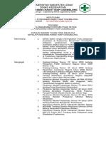 073 Sk Penyelenggaraan Kontrak Pihak Ketiga Puskesmas Cigemblong