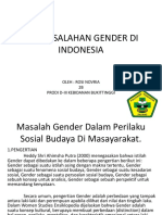 PERMASALAHAN GENDER DI INDONESIA ppt ROSIII 2B.pptx