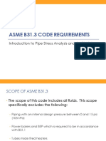 02 Stress Analysis of Piping System and Code Requirements ASME B31.3