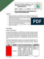 INSTRUCTIVO PARA LA CLASIFICACIÓN Y ALMACENAMIENTO DE REACTIVOS DE LABORATORIO