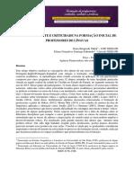 Agencia Docente e Criticidade Na Formacao - Pesquisa Questionário