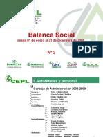 Balance Social 2008