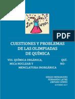 Cuestiones y Problemas Resueltos de Olimpiadas de Quimica Parte 8 Quimica Organica Quimica Nuclear y Nomenclatura Inorganica