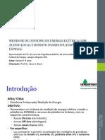 Tcc - Apresentação Medidor de Consumo de Energia Elétrica Com Esp8266 - 2018-1 v1