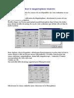 Utiliser Le Magnetophone Windows