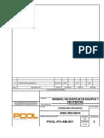 POOL-PO-AM-001 Rev. 0 - General de Montaje de Equipos y Recipient
