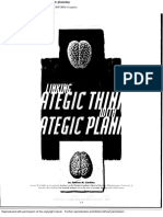 1998-Linking Strategic Thinking With Strategic Planning