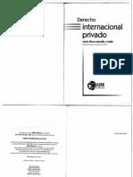 Derecho Internacional Privado. María Elena Mansilla y Mejía